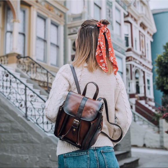 22e404e84e69 Aberdeen Stained Veg Tan backpack by PatriciaNash